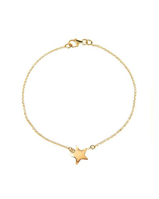 Latelita London - Metallic Cosmic Star Bracelet Gold - Lyst