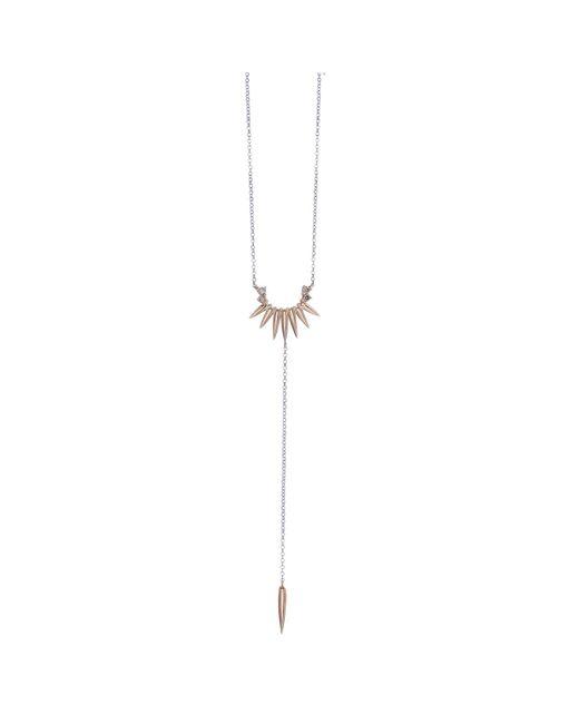 Joana Salazar | Metallic Spike Necklace | Lyst