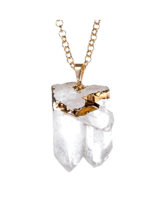 Tiana Jewel | Metallic Purity-gold-necklace-siena-collection | Lyst