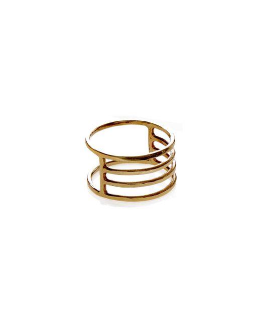 KIND Jewellery | Metallic Gold Eclipse Ring | Lyst