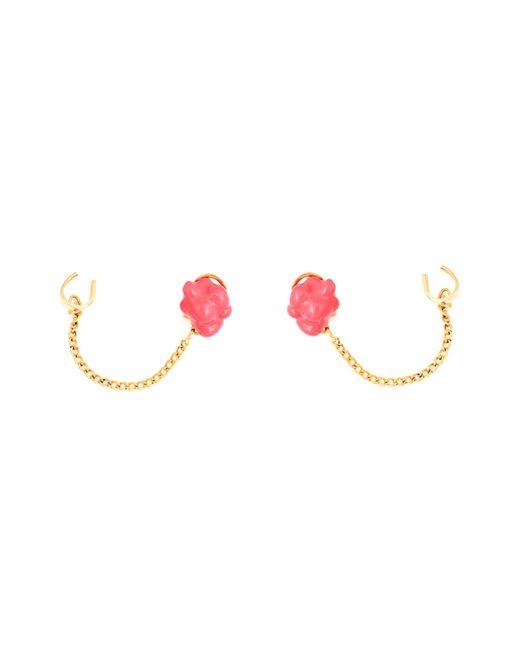 Glenda López | The Pink Popcorn Earrings | Lyst