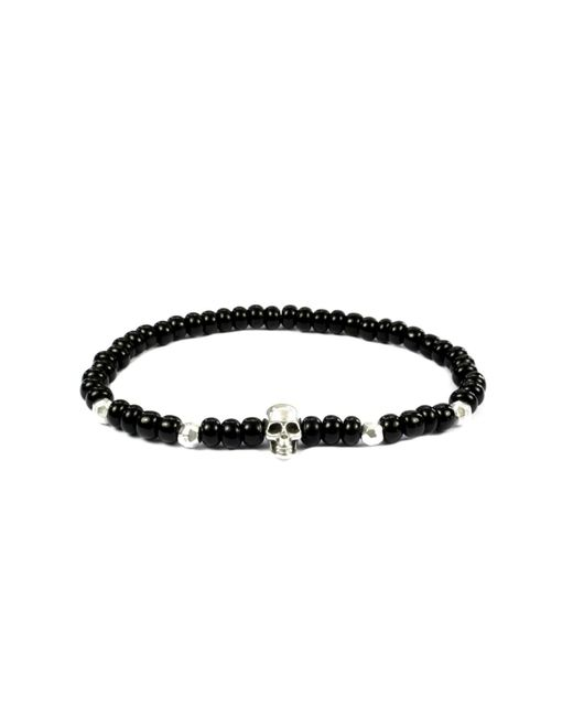 CLARISTE JEWELRY | Multicolor Men's Skull Bracelet Black & Silver for Men | Lyst