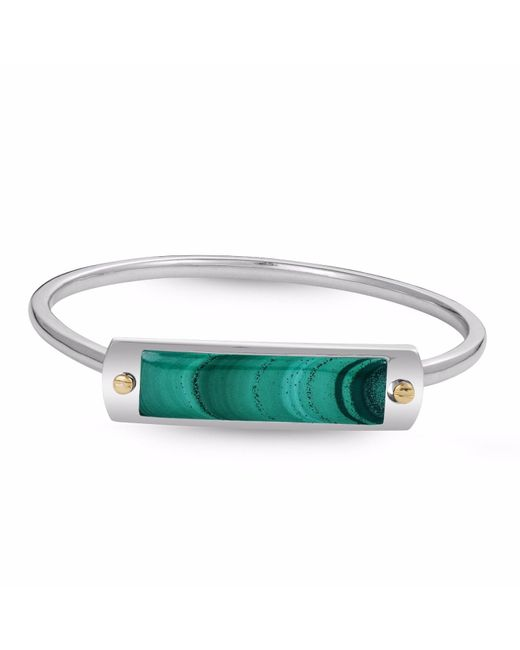 LMJ | Green Malachite Big Id Cuff Bracelet | Lyst