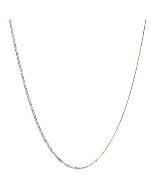 Dutch Basics | Metallic Interlinked Chains Necklace Gold | Lyst