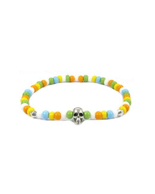 CLARISTE JEWELRY | Multicolor Men's Skull Bracelet Multicolour for Men | Lyst