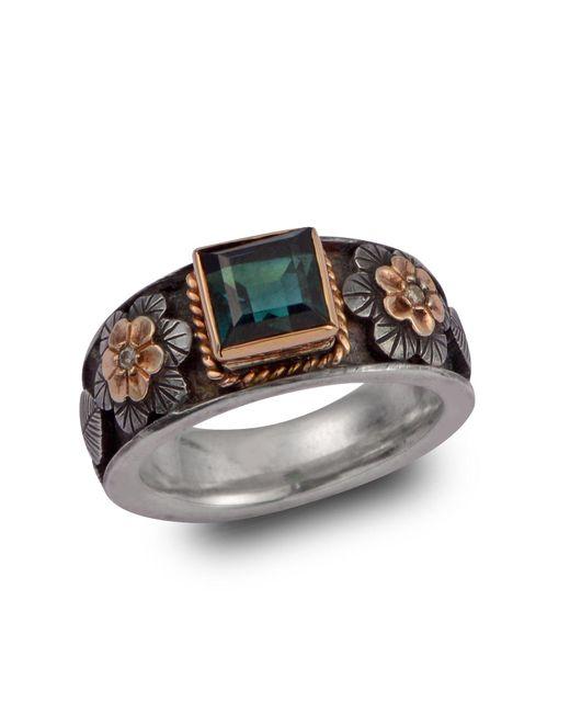 Emma Chapman Jewels - Brown Tourmaline And Diamond Treasure Ring - Lyst