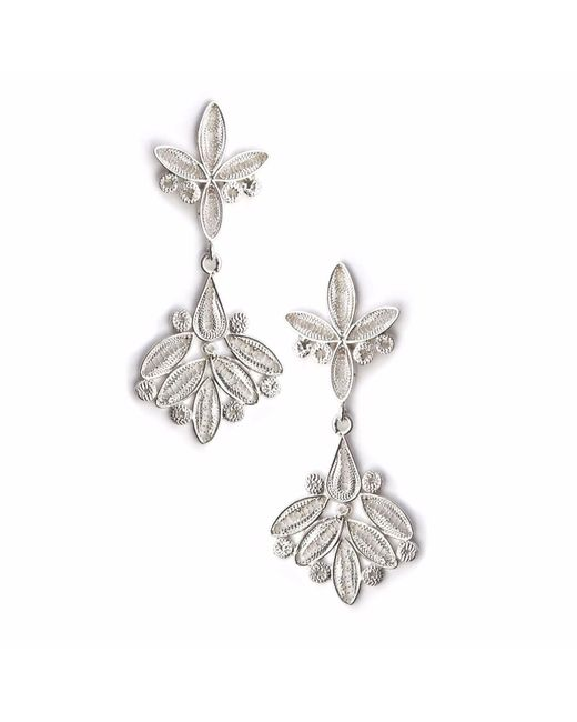 Kitik Jewelry - Metallic Nawi Silver Earrings - Lyst
