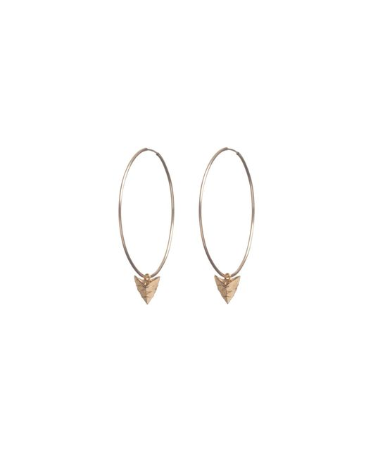 Rachel Entwistle | Metallic Modern Primitive Large Hoops Gold | Lyst