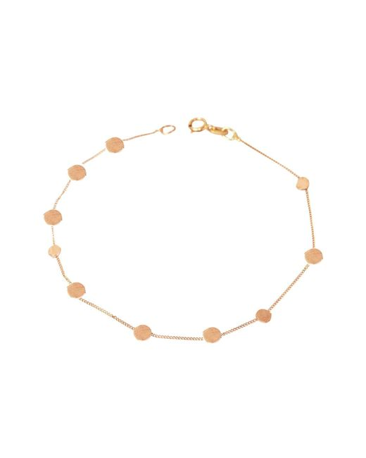 Lily Flo Jewellery - Metallic Stardust Reach For The Stars Bracelet In Solid Gold - Lyst