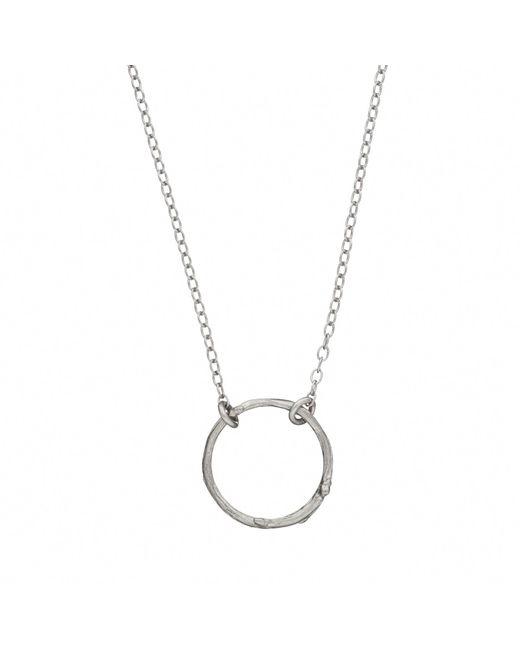Chupi | Metallic Hawthorn Twig Infinity Necklace Silver | Lyst
