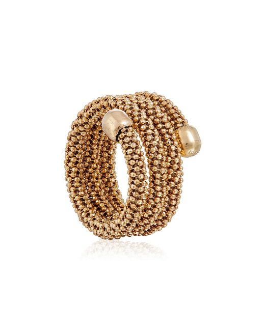 Durrah Jewelry - Metallic Gold Spring Ring - Lyst