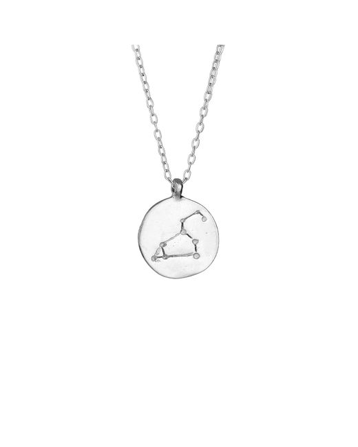 Chupi - Metallic Leo We Are All Made Of Stars Star Sign Necklace In Silver - Lyst