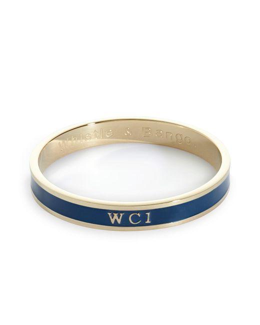 Whistle & Bango | Blue Wc1 Bangle | Lyst