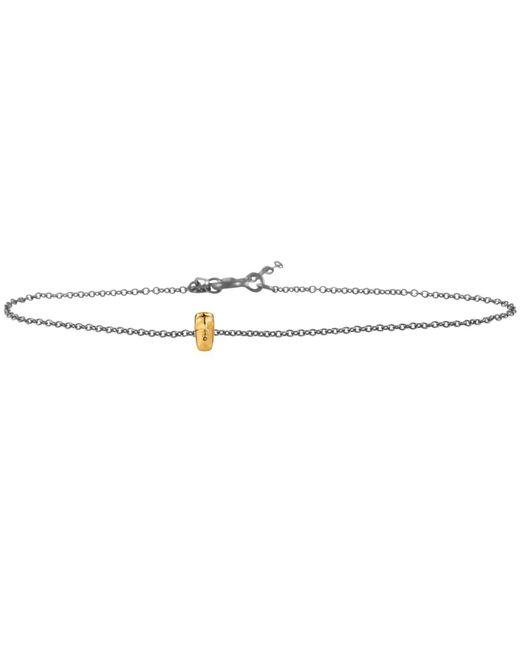 Lee Renee - Metallic Tiny Voodoo Damballah Bracelet Gold & Silver - Lyst