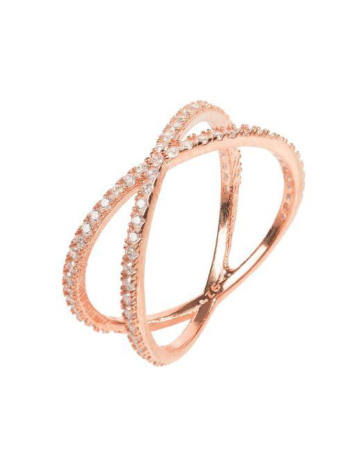 Latelita London   Metallic Sparkling Cosmos Ring Rosegold   Lyst