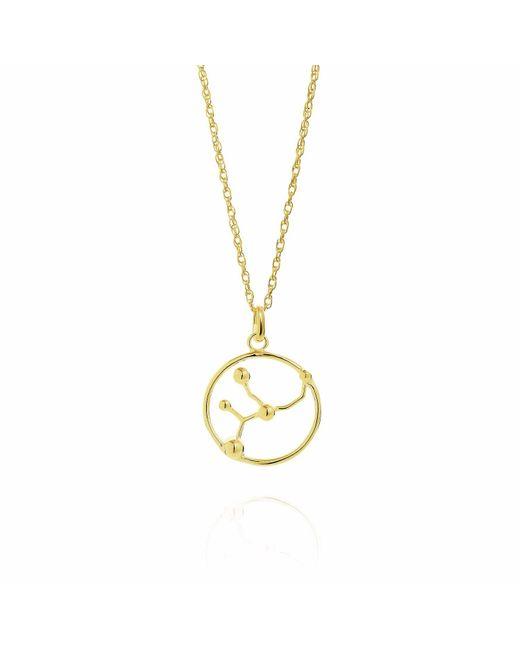 Yasmin Everley Jewellery | Metallic Virgo Astrology Ring In 9ct Gold | Lyst