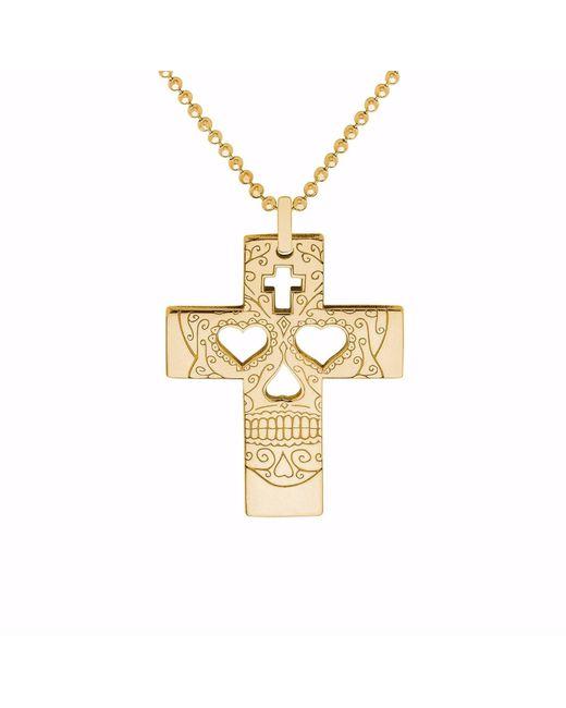 CarterGore - Metallic Gold Hamsa Hand Pendant Necklace - Lyst