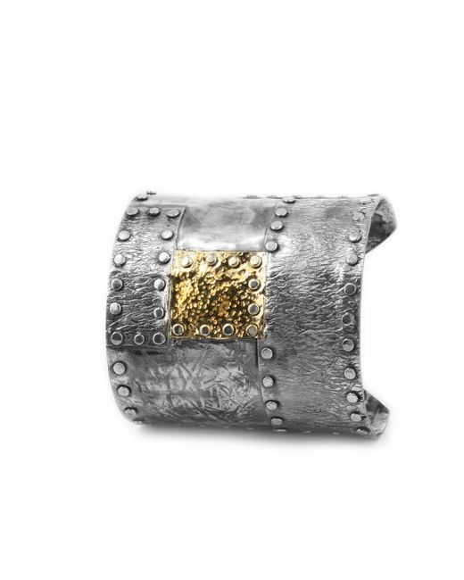 Katarina Cudic - Metallic Elements Big Cuff - Lyst