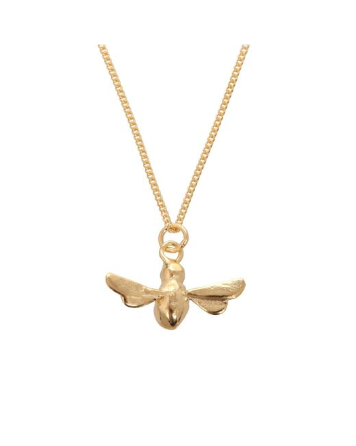 By Emily | Metallic Gold Bumblebee Necklace | Lyst