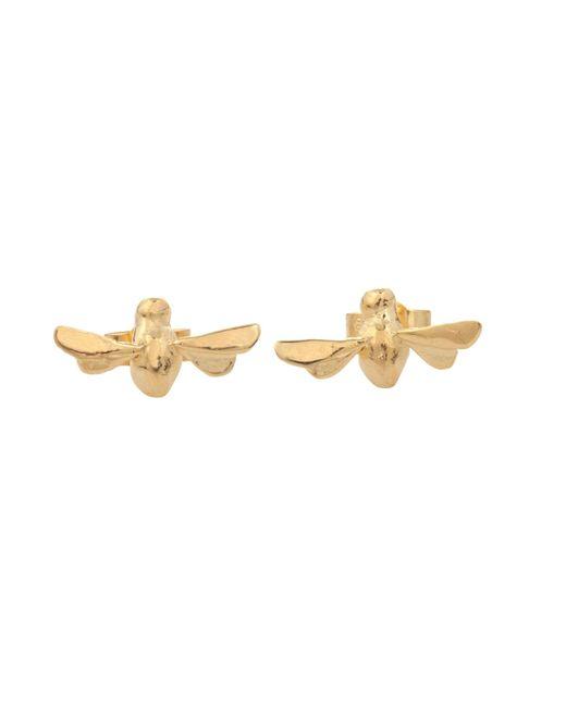 By Emily | Metallic Gold Bumblebee Earrings | Lyst