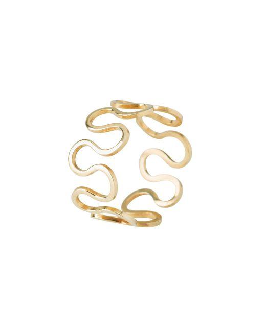 Dorota Todd | Metallic Loop Ring | Lyst