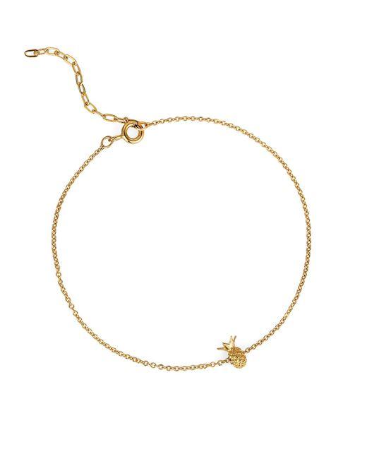 Lee Renee | Metallic Pineapple Bracelet Gold Vermeil | Lyst