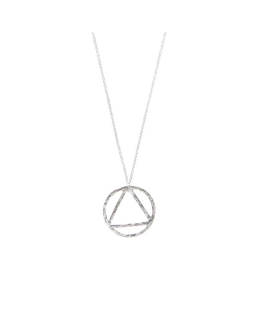 KIND Jewellery | Metallic Silver Elements Pendant Necklace | Lyst