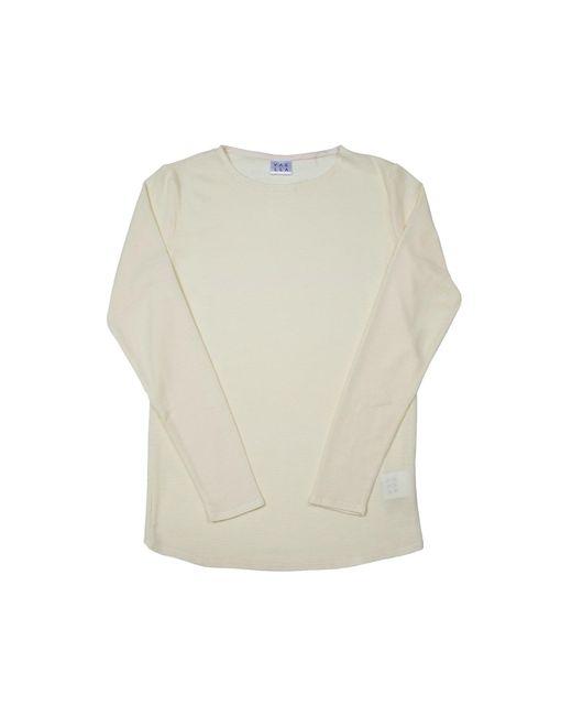 VAELLA | Harbor Off-white Merino Knitwear for Men | Lyst