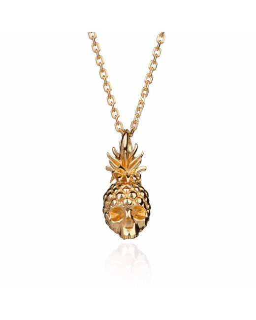Kasun - Metallic Forbidden Pineapple Gold - Lyst
