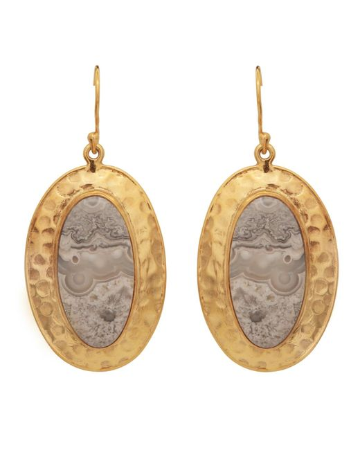 Carousel Jewels - Multicolor Jasper Antique Earrings - Lyst
