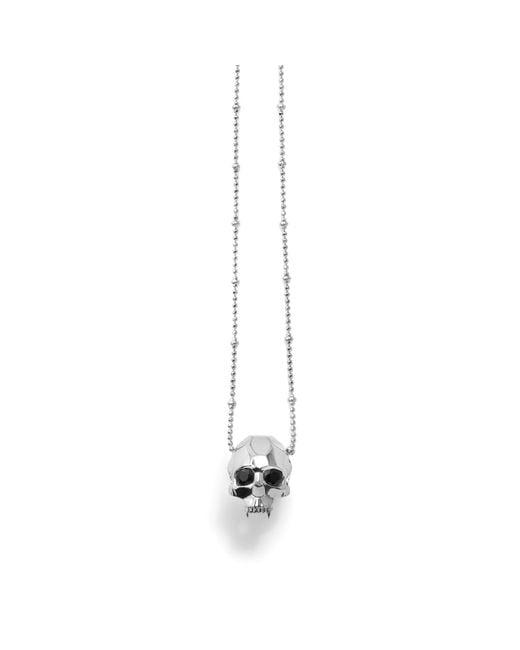 Kasun - Metallic Jawless Vampire Skull Pendant Silver - Lyst
