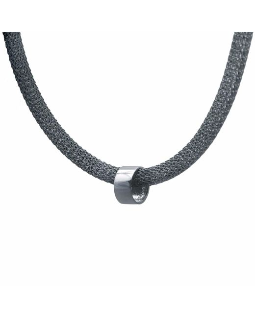 Edge Only - Metallic Large Marquise Bead Necklace - Lyst
