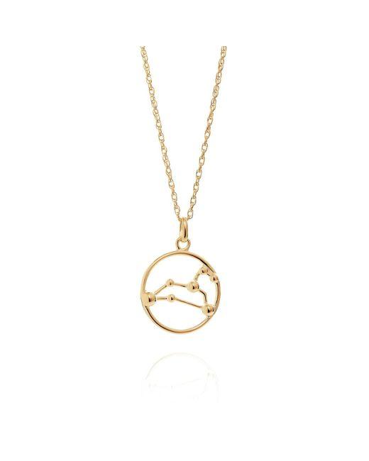 Yasmin Everley Jewellery - Metallic Leo Astrology Necklace In 9ct Gold - Lyst