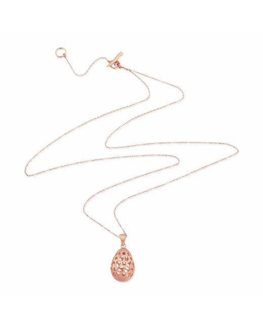 Auree Jewellery - Metallic Chelsea Egg Rose Gold Necklace - Lyst
