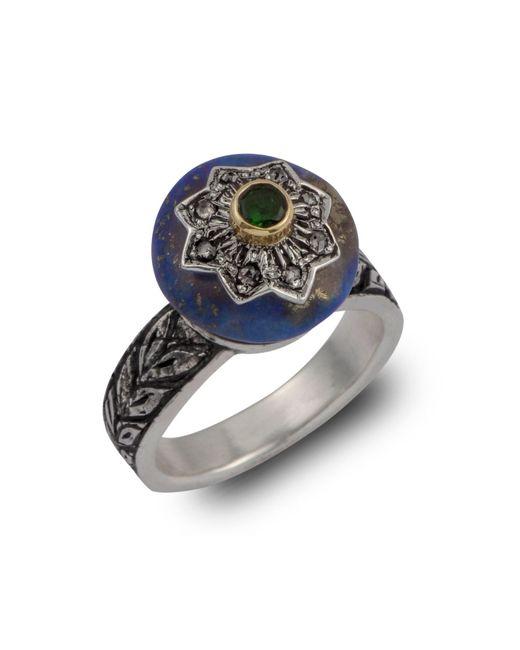 Emma Chapman Jewels - Blue Lapiz Star Diamond Ring - Lyst