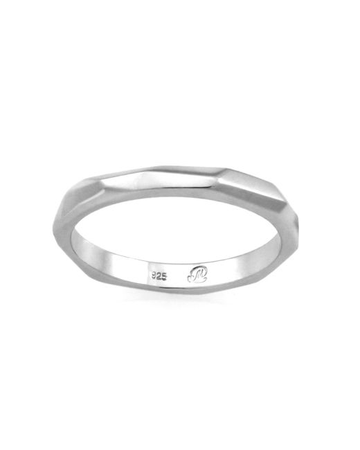 Monarc Jewellery - Metallic The Tempered Band Sterling Silver - Lyst