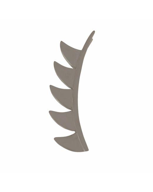 Meghna Jewels - Claw Ear Cuffs Sterling Silver & Black Rhodium - Lyst