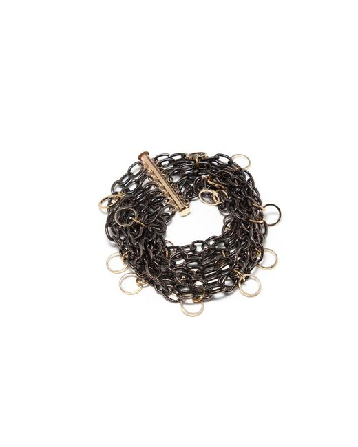 Amundsen Jewellery | Black Gunmetal Chain Bracelet | Lyst