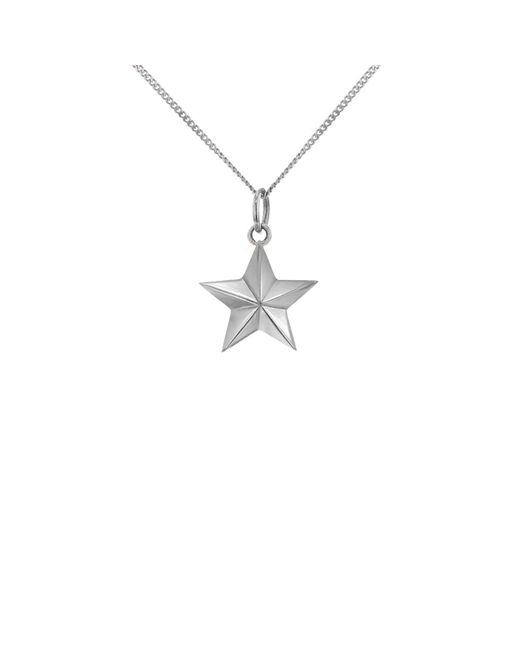 True Rocks - Metallic Mini Star Necklace Silver - Lyst