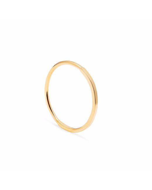 Myia Bonner - Metallic Gold Paradox Skinny Stacking Ring - Lyst