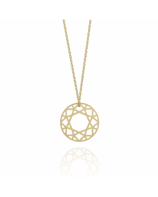 Myia Bonner | Metallic Medium Gold Brilliant Diamond Necklace | Lyst
