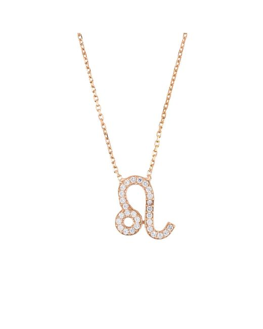 Latelita London - Metallic Leo Zodiac Necklace - Lyst