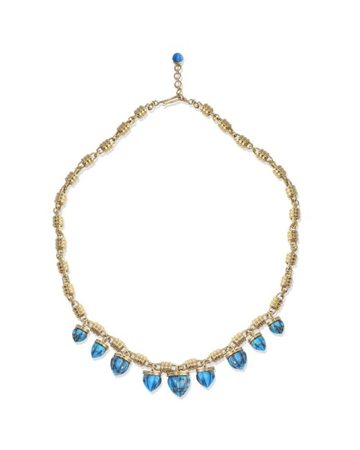 LMJ - Metallic Sunshine Twist Necklace - Lyst