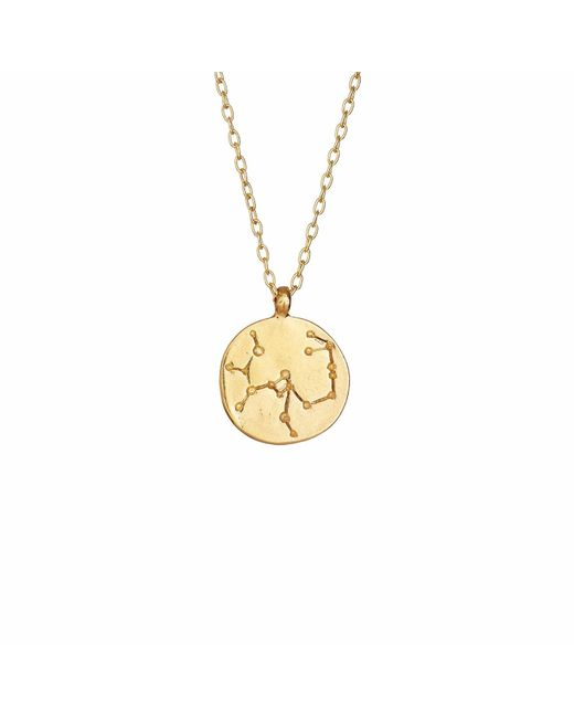 Chupi - Metallic Sagittarius We Are All Made Of Stars Star Sign Necklace In Gold - Lyst