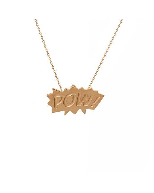 Edge Only | Metallic Pow Pendant Medium In Gold | Lyst