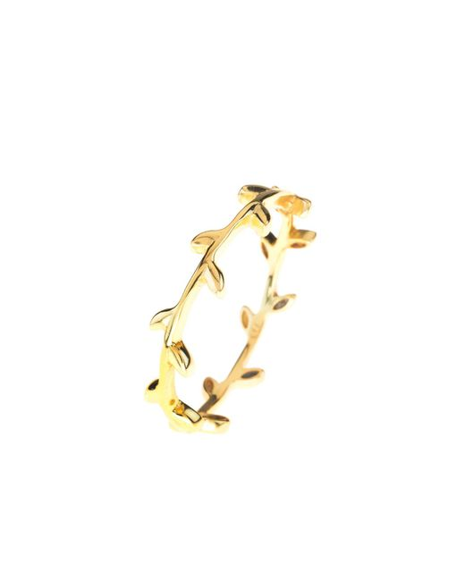 Latelita London - Metallic Cosmic Branch Ring Gold - Lyst