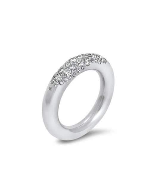 Hargreaves Stockholm - Metallic Commitment B White Gold & Diamond Eternity Ring - Lyst