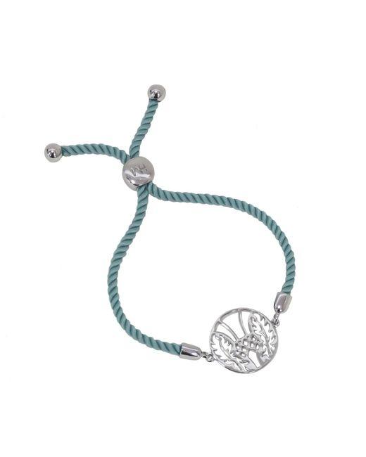 Hoochie Mama | Metallic Thistle Medallion Friendship Bracelet | Lyst