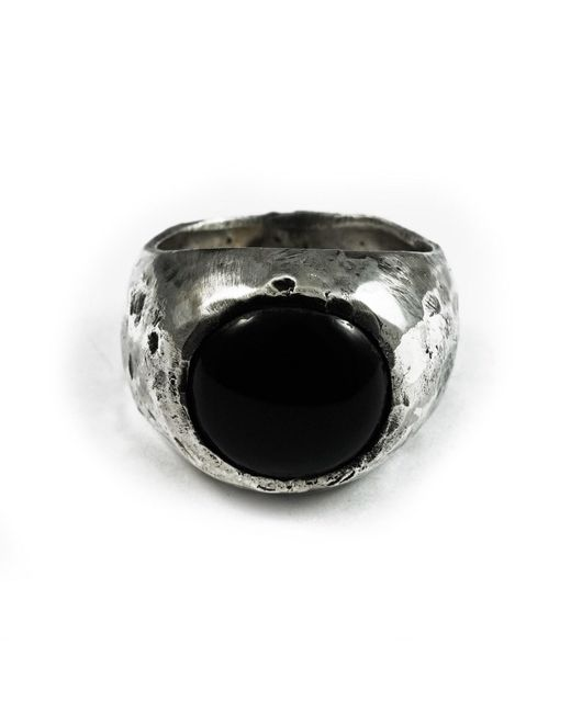 Frederick Grove - Metallic Reticulated Onyx for Men - Lyst