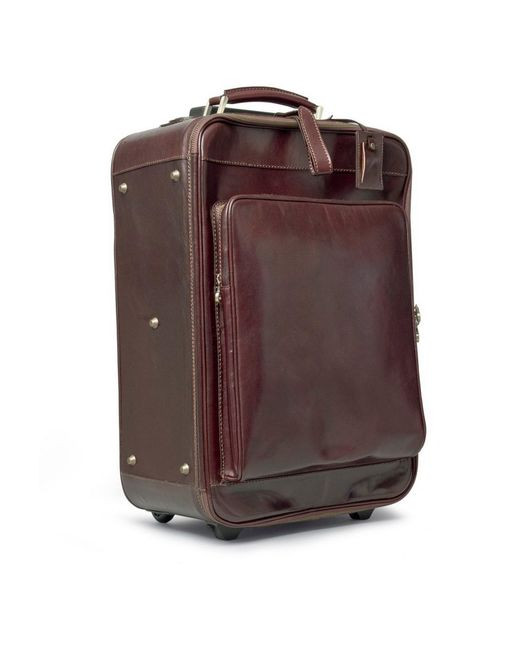 how to make a leather suitcase